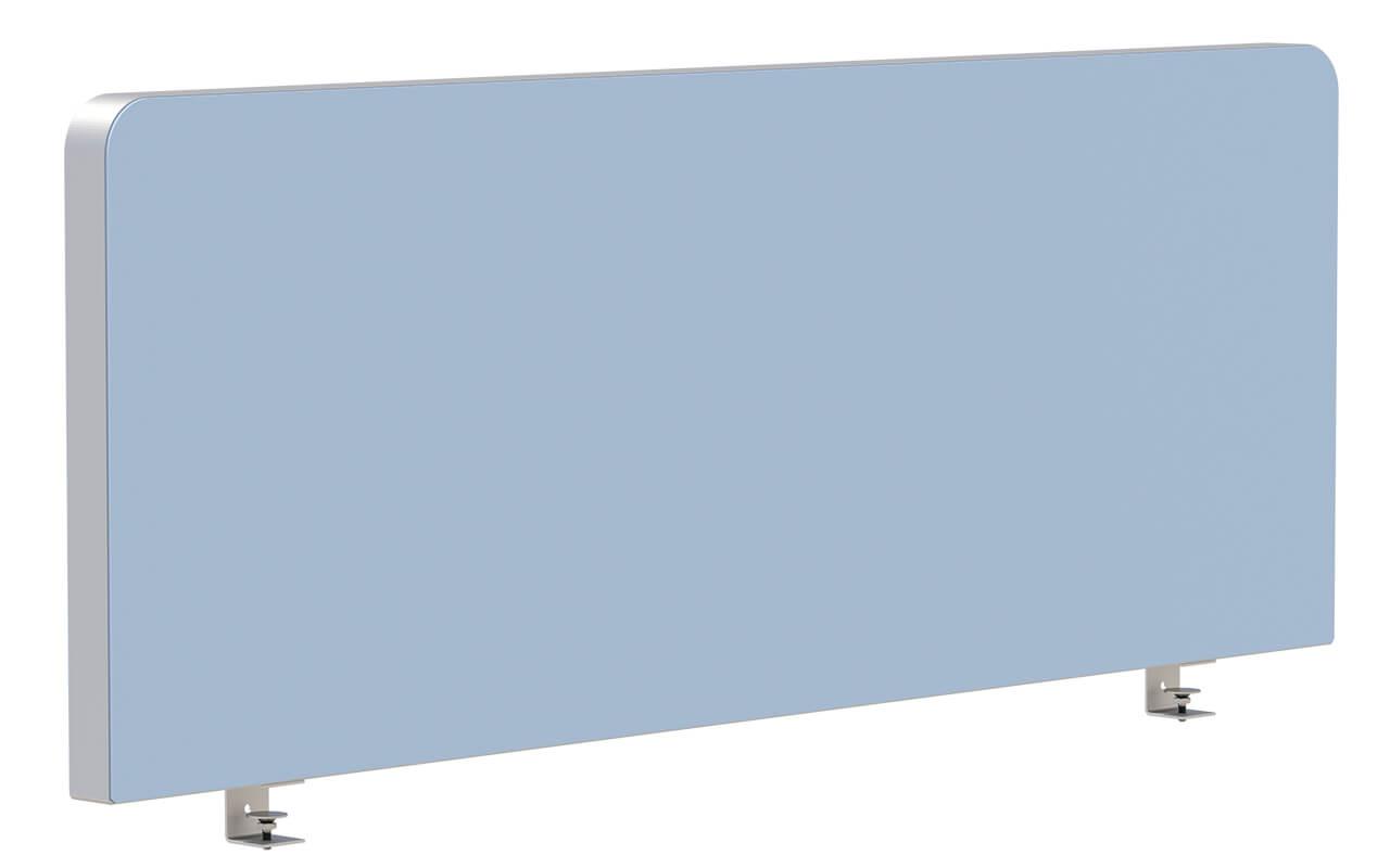 Schreibtischtopper Round 2 mit oben abgerundeten Ecken