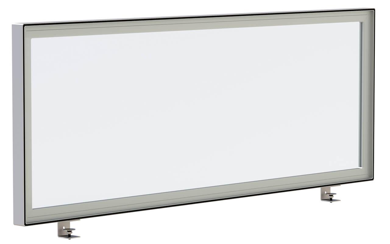 Schreibtischtopper light auf weißem Hintergrund